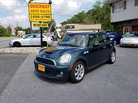 2007 MINI Cooper for sale at Quickway Auto Sales in Hackettstown NJ