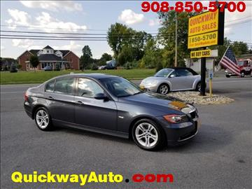 2008 BMW 3 Series for sale at Quickway Auto Sales in Hackettstown NJ