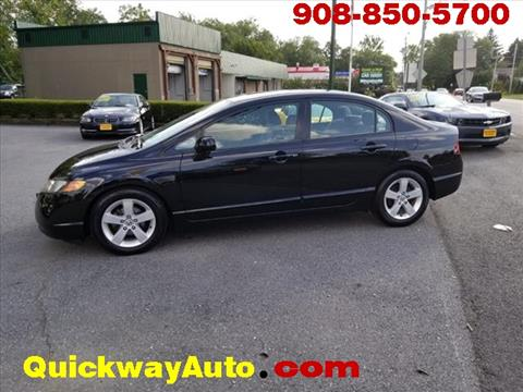 2007 Honda Civic for sale at Quickway Auto Sales in Hackettstown NJ