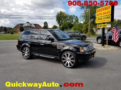 2008 Land Rover Range Rover Sport for sale at Quickway Auto Sales in Hackettstown NJ