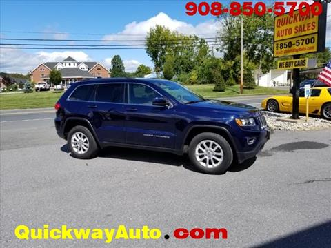 2014 Jeep Grand Cherokee for sale at Quickway Auto Sales in Hackettstown NJ