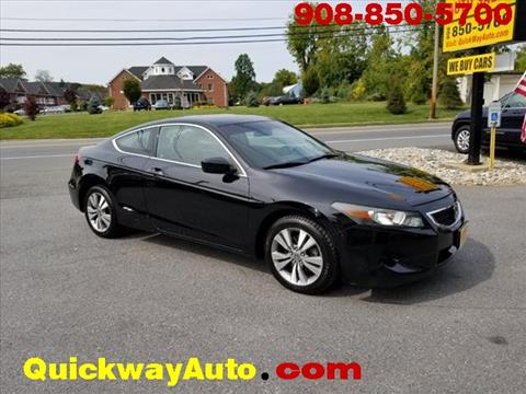 2009 Honda Accord for sale at Quickway Auto Sales in Hackettstown NJ