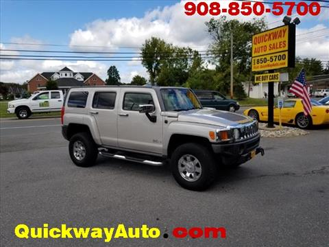 2006 HUMMER H3 for sale at Quickway Auto Sales in Hackettstown NJ
