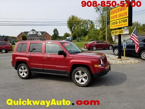 2014 Jeep Patriot for sale at Quickway Auto Sales in Hackettstown NJ