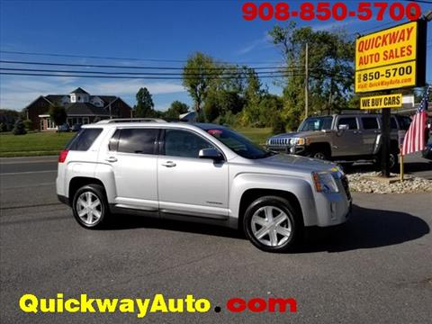 2011 GMC Terrain for sale at Quickway Auto Sales in Hackettstown NJ