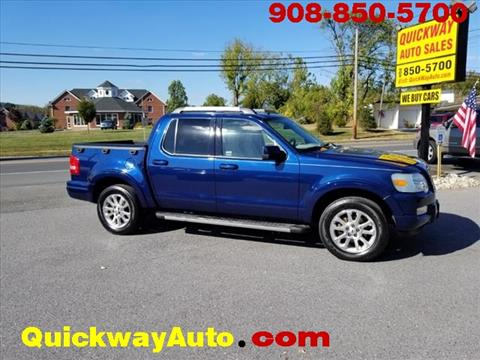 2007 Ford Explorer Sport Trac for sale at Quickway Auto Sales in Hackettstown NJ