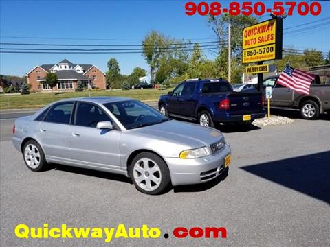 2001 Audi S4 for sale at Quickway Auto Sales in Hackettstown NJ