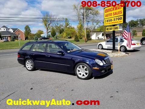 2007 Mercedes-Benz E-Class for sale at Quickway Auto Sales in Hackettstown NJ