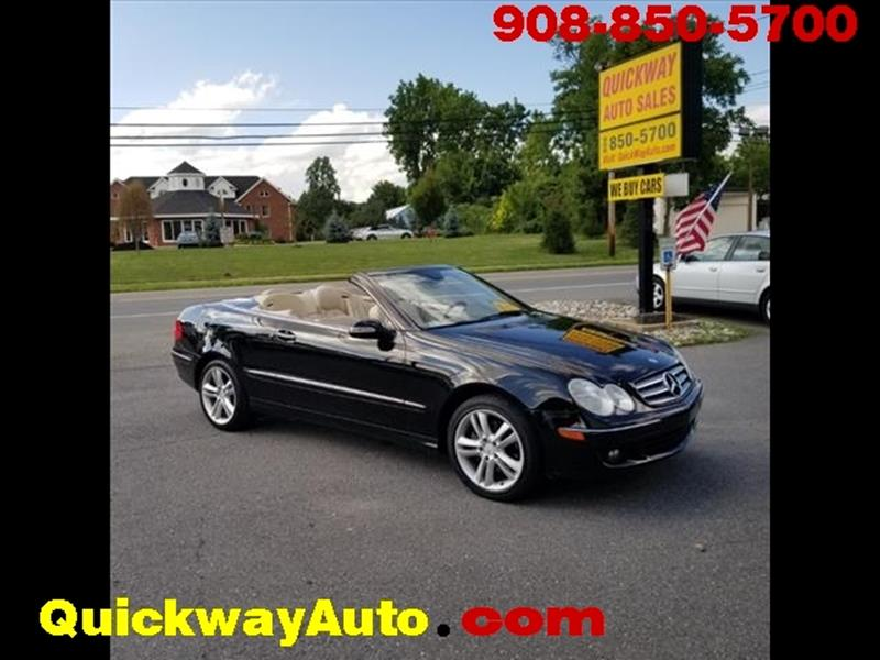 2006 Mercedes Benz CLK For Sale At Quickway Auto Sales In Hackettstown NJ