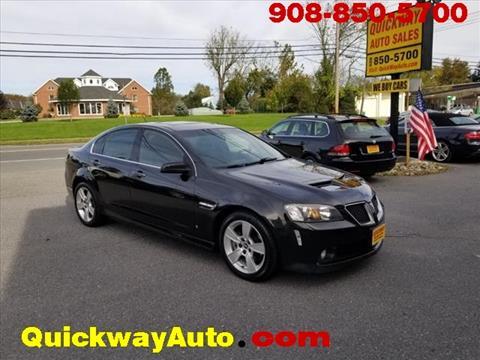 2008 Pontiac G8 for sale in Hackettstown, NJ