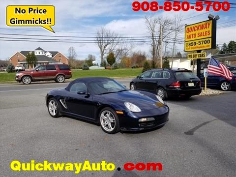 2005 Porsche Boxster for sale in Hackettstown, NJ