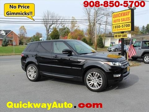 Quickway Auto Sales - Hackettstown NJ - Inventory Listings