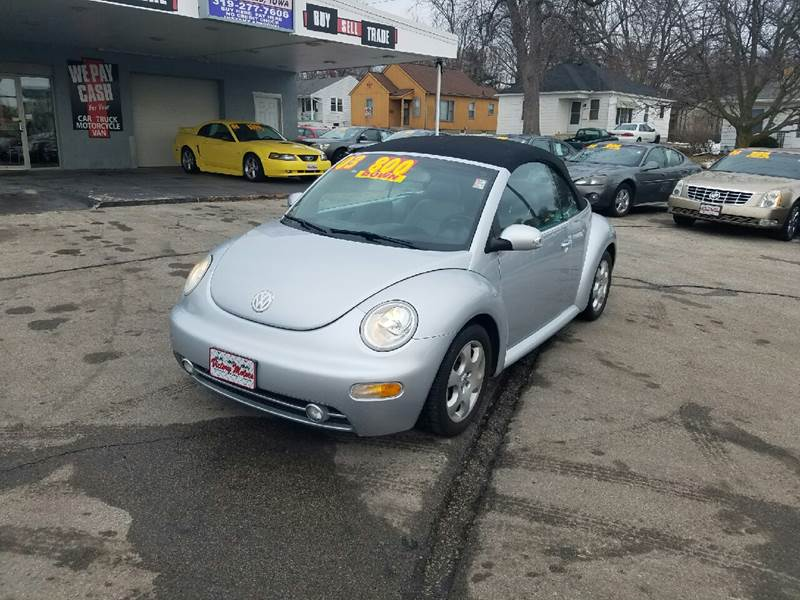 2003 Volkswagen New Beetle GLS 2dr Convertible - Cedar Falls IA