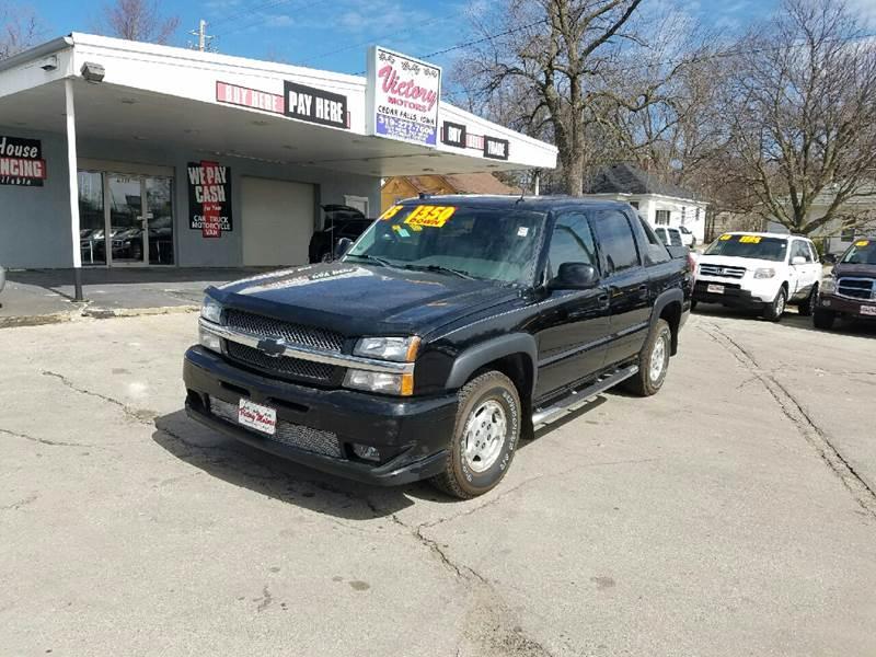 2005 Chevrolet Avalanche 4dr 1500 LT 4WD Crew Cab SB - Cedar Falls IA