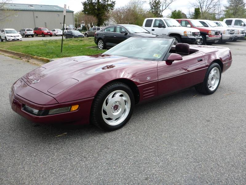 1993 Chevrolet Corvette In Fredericksburg VA - CR Garland Auto Sales