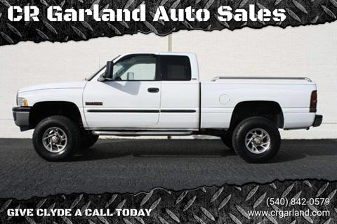 1998 Dodge Ram Pickup 2500 for sale at CR Garland Auto Sales in Fredericksburg VA