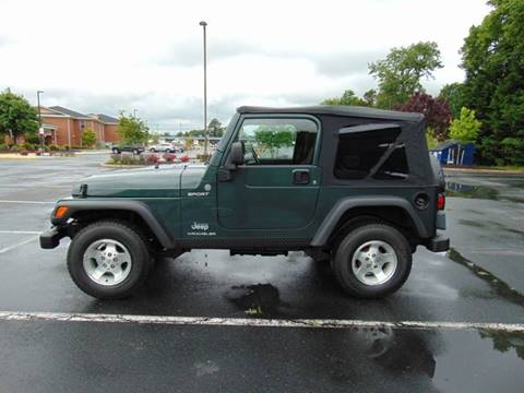 2004 Jeep Wrangler for sale in Fredericksburg, VA