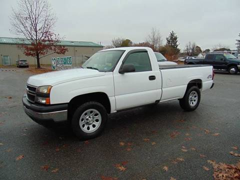 2006 Chevrolet Silverado 1500 for sale at CR Garland Auto Sales in Fredericksburg VA