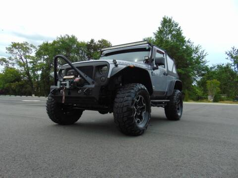 2013 Jeep Wrangler for sale at CR Garland Auto Sales in Fredericksburg VA