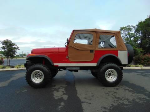 1983 Jeep CJ-7 for sale at CR Garland Auto Sales in Fredericksburg VA