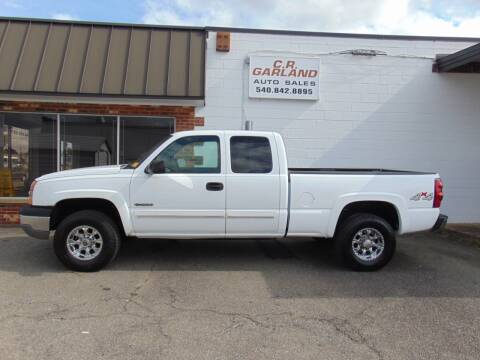 2003 Chevrolet Silverado 2500 for sale at CR Garland Auto Sales in Fredericksburg VA