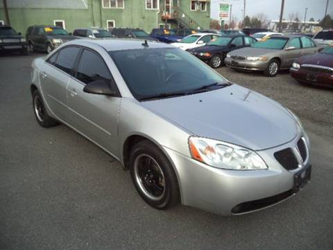 2008 Pontiac G6 for sale at Independent Auto Sales in Spokane Valley WA