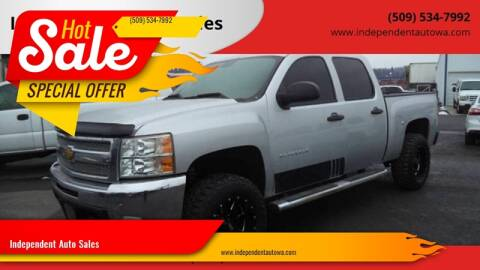 2013 Chevrolet Silverado 1500 for sale at Independent Auto Sales in Spokane Valley WA