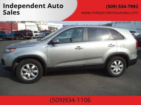 2013 Kia Sorento for sale at Independent Auto Sales #2 in Spokane WA