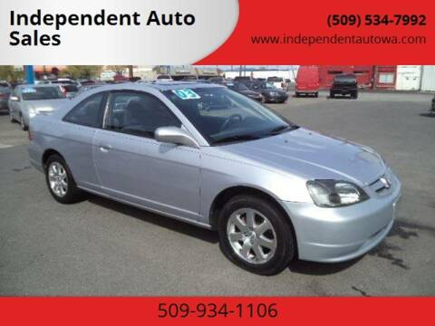 2003 Honda Civic for sale at Independent Auto Sales #2 in Spokane WA