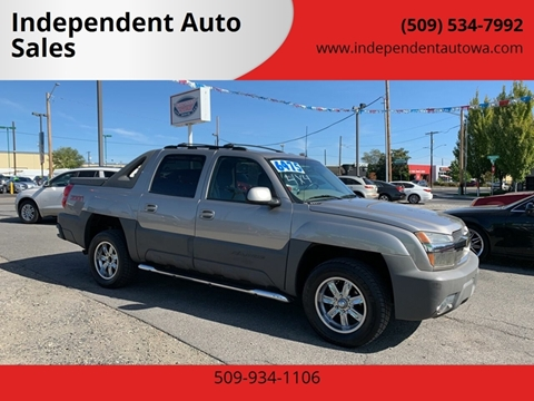 2002 Chevrolet Avalanche for sale at Independent Auto Sales #2 in Spokane WA