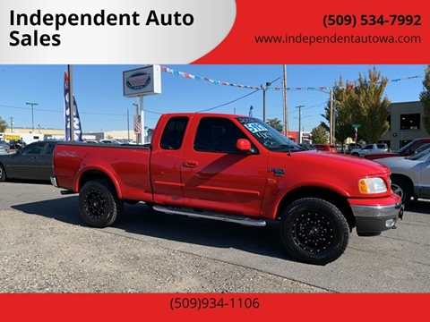 2002 Ford F-150 for sale in Spokane Valley, WA