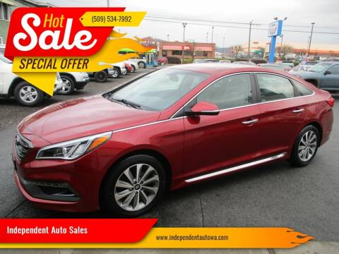 2015 Hyundai Sonata for sale at Independent Auto Sales in Spokane Valley WA