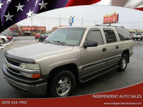 2003 Chevrolet Suburban for sale at Independent Auto Sales in Spokane Valley WA