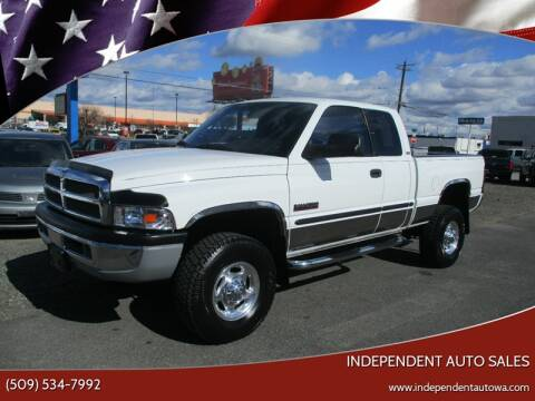 2000 Dodge Ram Pickup 2500 for sale at Independent Auto Sales in Spokane Valley WA