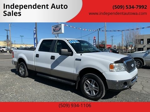 2007 Ford F-150 XLT for sale at Independent Auto Sales #2 in Spokane WA