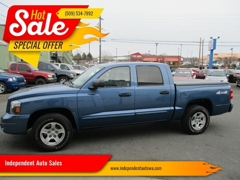 2006 Dodge Dakota SLT for sale at Independent Auto Sales in Spokane Valley WA