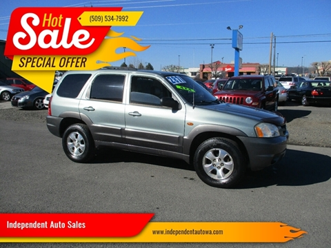 2003 Mazda Tribute for sale at Independent Auto Sales in Spokane Valley WA