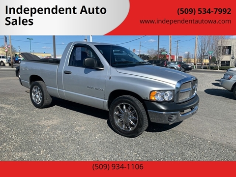 2005 Dodge Ram Pickup 1500 ST for sale at Independent Auto Sales #2 in Spokane WA
