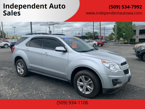 2014 Chevrolet Equinox for sale at Independent Auto Sales #2 in Spokane WA