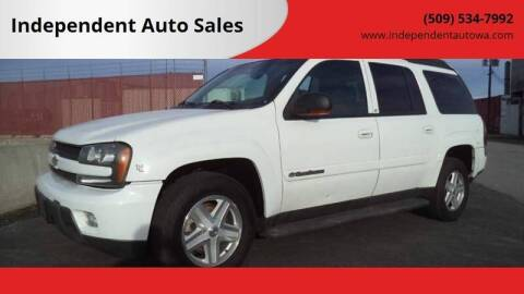 2003 Chevrolet TrailBlazer EXT LT for sale at Independent Auto Sales #2 in Spokane WA