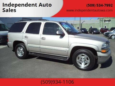 2006 Chevrolet Tahoe LT for sale at Independent Auto Sales #2 in Spokane WA