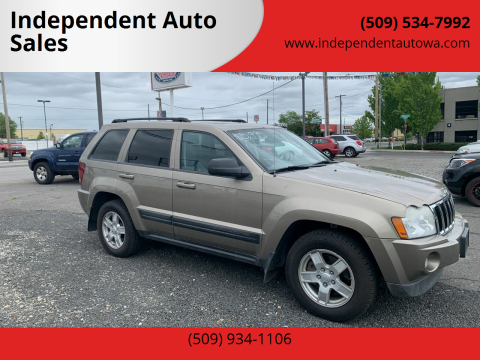 2006 Jeep Grand Cherokee Laredo for sale at Independent Auto Sales #2 in Spokane WA