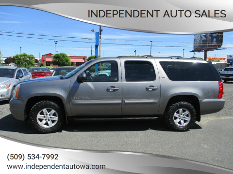 2008 GMC Yukon XL SLT 1500 for sale at Independent Auto Sales in Spokane Valley WA
