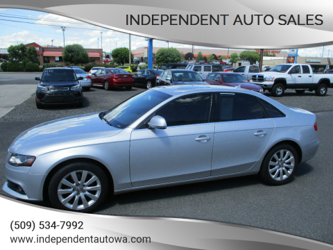 2009 Audi A4 2.0T quattro for sale at Independent Auto Sales in Spokane Valley WA