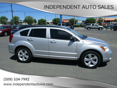 2012 Dodge Caliber SXT for sale at Independent Auto Sales in Spokane Valley WA