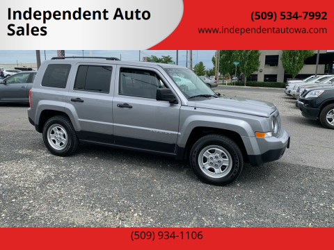 2015 Jeep Patriot for sale at Independent Auto Sales in Spokane Valley WA