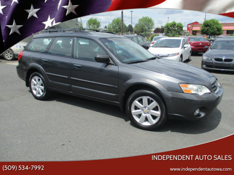 2007 Subaru Outback for sale at Independent Auto Sales #2 in Spokane WA