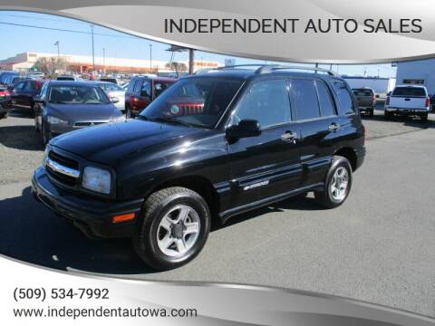 2003 Chevrolet Tracker for sale at Independent Auto Sales #2 in Spokane WA