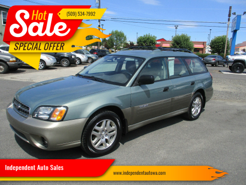 2004 Subaru Outback for sale at Independent Auto Sales in Spokane Valley WA