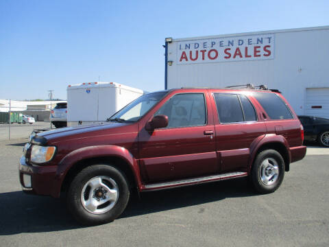 2001 Infiniti QX4 for sale at Independent Auto Sales in Spokane Valley WA